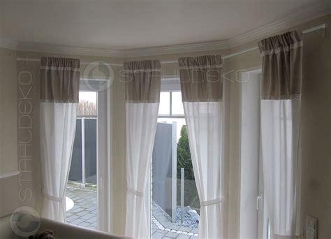 Gardinenstangen Für Erker kostenloses angebot f 252 r eine gebogene gardinenstange