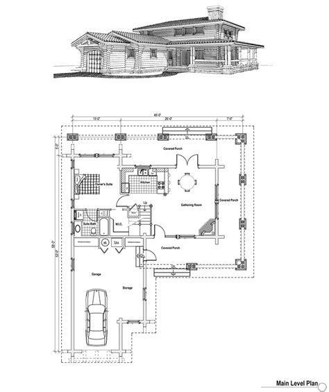 log home floor plans with garage log home plan with garage log home with wraparound porch