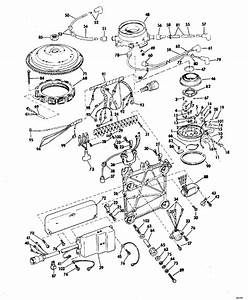 Johnson Ignition System Parts For 1972 100hp 100esl72r Outboard Motor