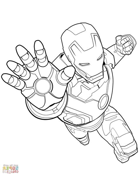 avenger coloring page  coloring pages
