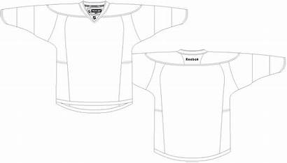 Jersey Template Nhl Blank Uniform Own Create