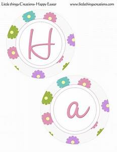 FREE Easter Party Printables from Little Things Creations ...