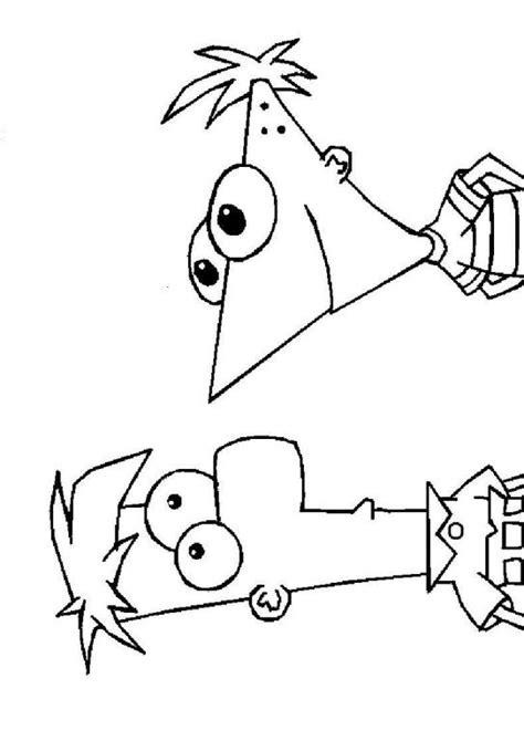 Phineas And Ferb Kleurplaat by Kleurplaten En Zo 187 Kleurplaten Phineas En Ferb