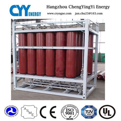 Nitrogen Cylinder Rack by China Offshore Oxygen Argon Nitrogen Gas Cylinder Rack