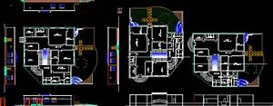 Art And Craft Center In Autocad