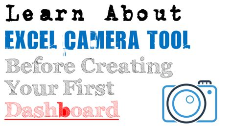 How To Use Excel Camera Tool To Create Live Pictures In Excel