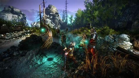witcher  en   games  gold januari power