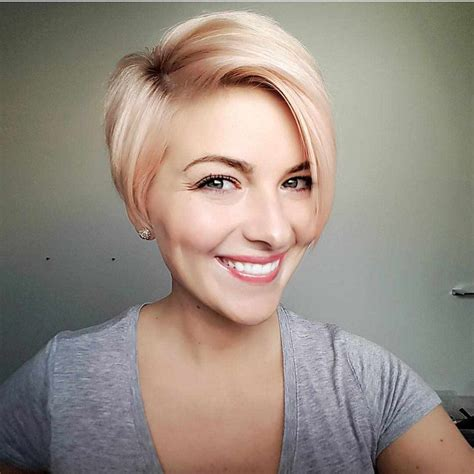 60 short hairstyles for round faces 2018 2019 187 hairstyle sles
