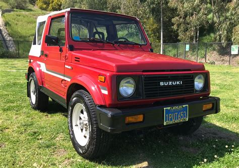 Suzuki Samuri For Sale by 1986 Suzuki Samurai For Sale On Bat Auctions Sold For