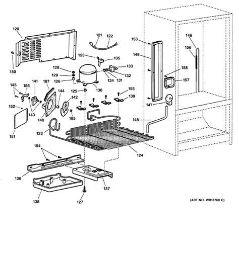 ge profile refrigerator model number location   wiring diagram schematic
