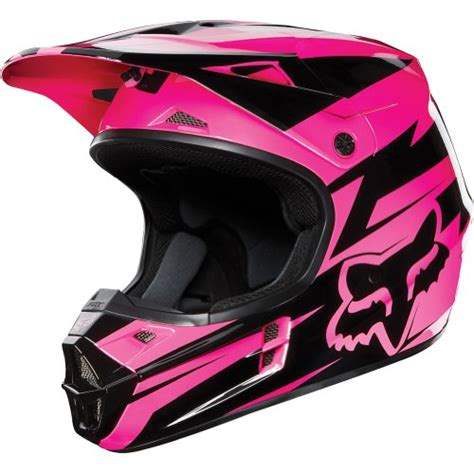 pink motocross helmets fox racing costa v1 motocross off road dirt bike