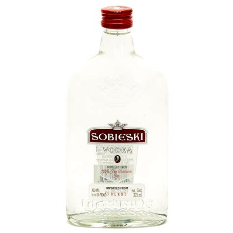 sobieski vodka sobieski vodka 100 pure dankowski rye 375ml beer wine and liquor delivered to your door