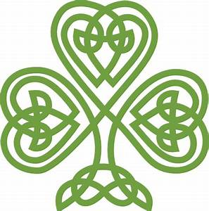 Celtic Shamrock Clip Art at Clker.com - vector clip art ...