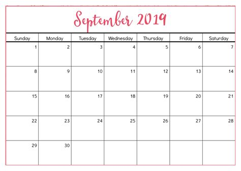calendar september printable holidays net market media