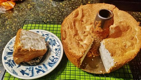 angel food cake courtesy  alton browns good eatsthe
