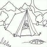 Coloring Camping Pages Tent Printable Boy Colouring Sheets Nature Scene Fire Fun Peaking Snoopy Print Camper Pit Head Bestcoloringpagesforkids Preschool sketch template