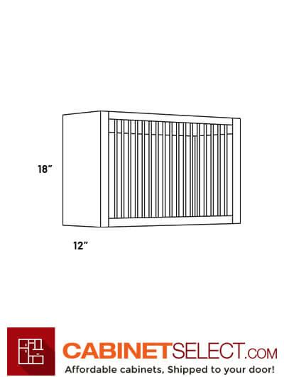 pr luxor white  plate rack cabinet cabinetselectcom