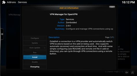 setting up openvpn on libreelec kodi ipvanish