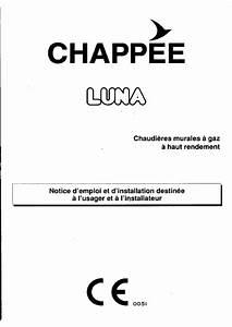 Chaudiere Fioul Chappee Notice : notice technique chappee luna ~ Melissatoandfro.com Idées de Décoration