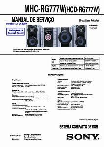 Sony Mhc-gx8000  Mhc-rg66t  Mhc-rg77 Service Manual