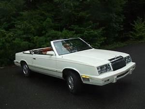 Chrysler Le Baron Cabriolet : find used 1982 chrysler lebaron convertible mark cross edition white w tan interior in ~ Medecine-chirurgie-esthetiques.com Avis de Voitures