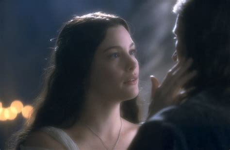 Cinema Et Valinor In Rivendell Arwen And Aragorn New Line Cinema