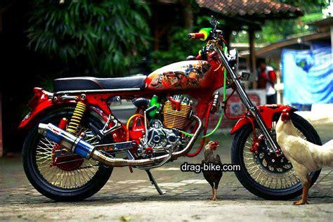 Motor Modifikasi Cb by 50 Foto Gambar Modifikasi Honda Cb 100 Klasik Style