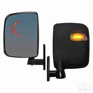 Rhox Side Mirror With Led Turn Signal