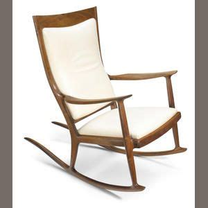 Sam Maloof Rocking Chair Auction by Sam Maloof American 1916 2009 Rocking Chair 1976