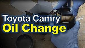 Toyota Camry  Oil Change  U0026 Filter Replacement