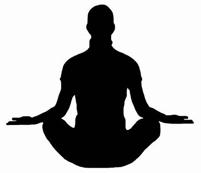 Clipart Meditation Transparent Cliparts Clip Silhouette Library
