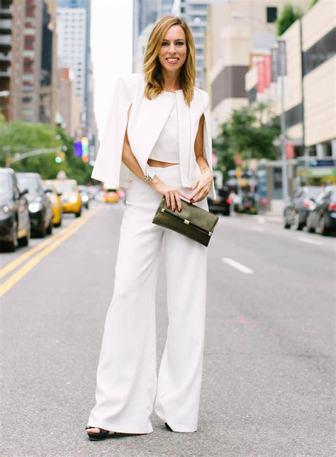 White Pant with Crop Top women Glamorous Fashion u2013 Designers Outfits Collection