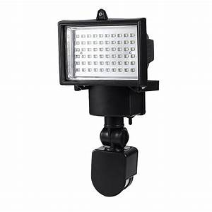 new 60led solar powered motion sensor security flood light With outdoor sensor lights au