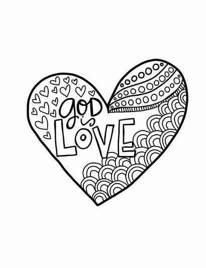 Coloring God Sunday Alivelyhope Primary