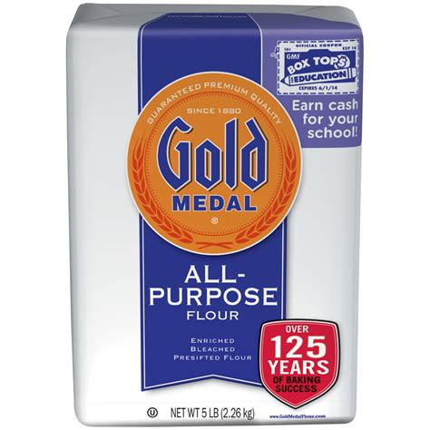 Gold Medal All Purpose Flour, Enriched Bleached Presifted