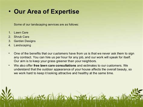 p mlandscaping company profile