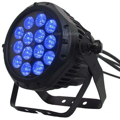 14x10w outdoor rgbw 4in1 led par can spectral m800 gradual