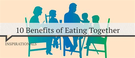 10 Benefits Of Eating Together  Positive Thinking