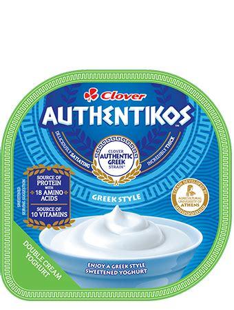 Greek Style Double Cream Sweetened Yoghurt | Clover Corporate