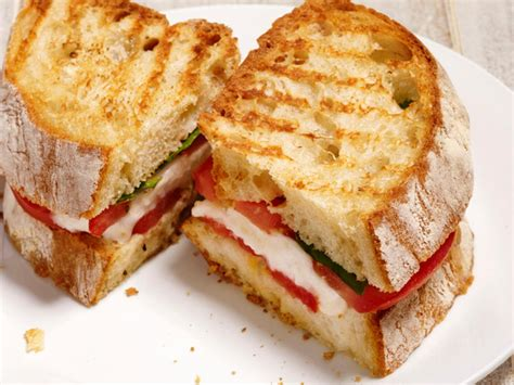 panini recipes  cooking food network recipes