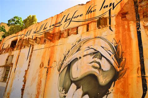 All shall be equal before the law: justice graffiti in Cap ...