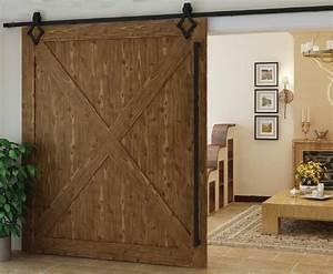 trend alert barn doors add distinct style to your log home With 5 ft wide barn door