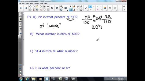 solve basic percent problems  grade math youtube