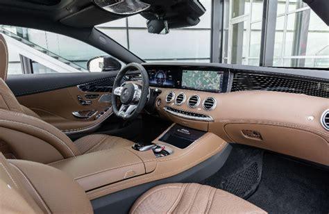 class coupe brown command centero mercedes benz