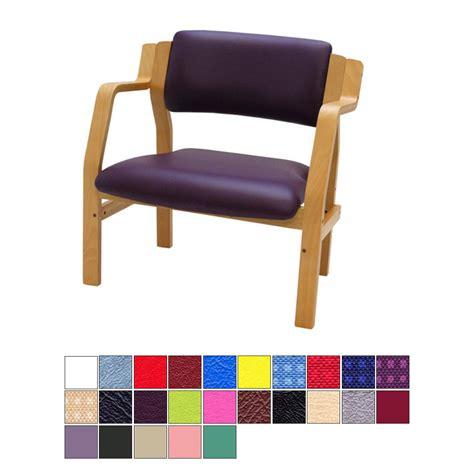 medi plinth wooden frame bariatric waiting room chair