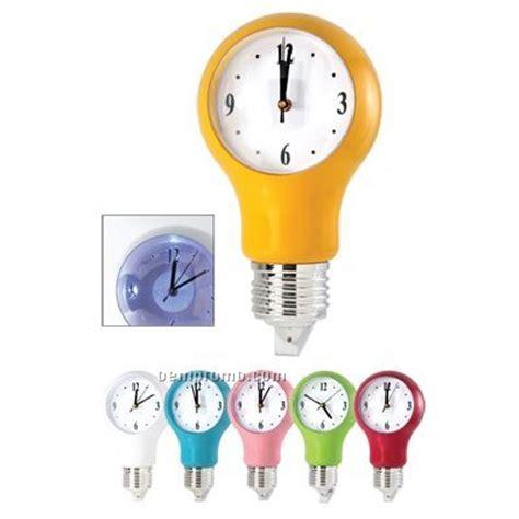 light bulb wall clock with auto light sensor china wholesale light bulb wall clock with auto