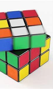 3D model animated Rubik Cube Speed Solve Animation
