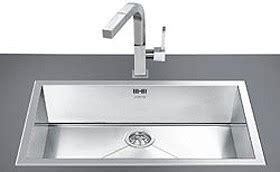 smeg sinks gt 1 0 bowl stainless steel low profile inset