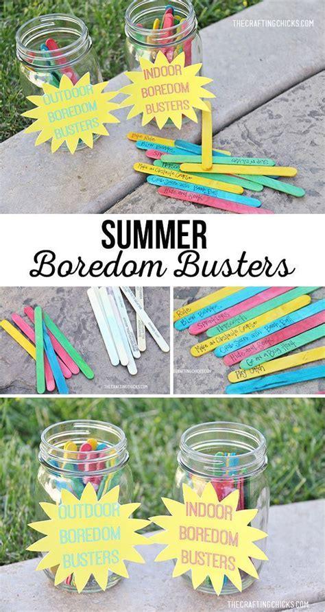 40 Indoor & Outdoor Summer Boredom Busters Summer