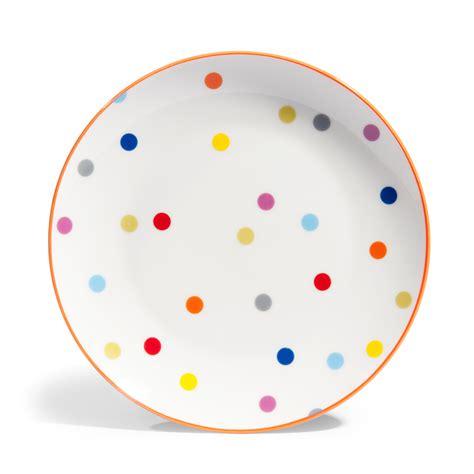 maison du monde assiette assiette plate 224 pois en porcelaine d 26 cm confettis maisons du monde